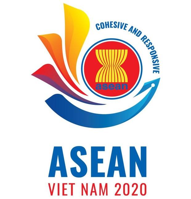 Presentation du logo officiel de l'ASEAN 2020 hinh anh 1