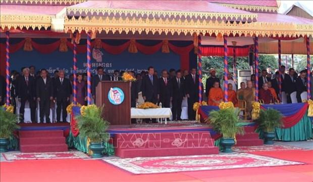 Les 41 ans de la victoire sur les Khmers rouges celebres au Cambodge hinh anh 1