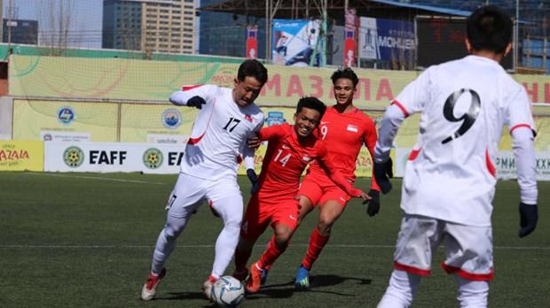 Championnat U23 de l'Asie 2020 en Thailande : L'AFC apprecie l'attaquant Nguyen Tien Linh hinh anh 2