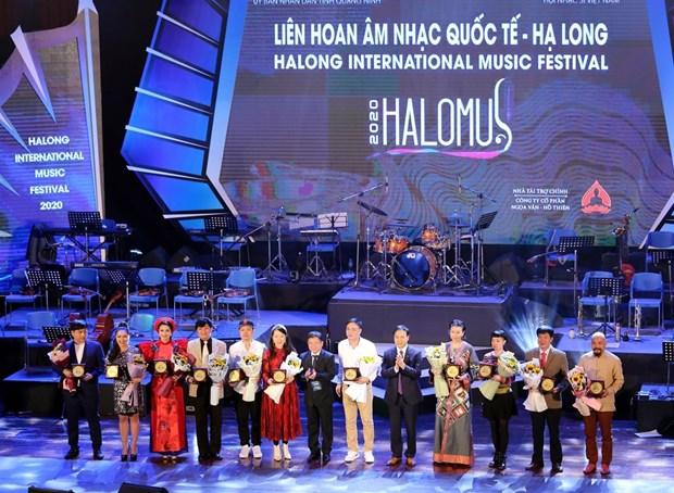 Festival international de musique a Ha Long hinh anh 1