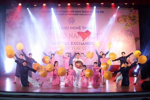Nouvel An 2020: un programme artistique international a Hanoi hinh anh 1