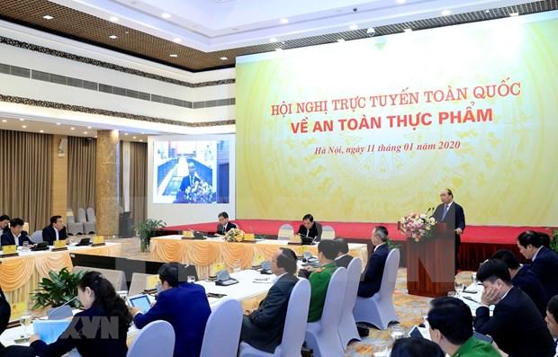 Le PM : l'acces aux aliments propres est un droit fondamental de l'homme hinh anh 1