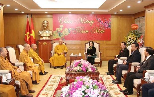 Les activites de l'Eglise bouddhique du Vietnam saluees hinh anh 1
