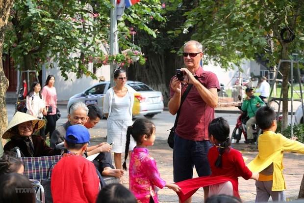 Hanoi est a la traine de nombreuses villes regionales sur l'attraction des touristes etrangers hinh anh 1