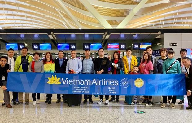 Vietnam Airlines ouvre une ligne aerienne entre Da Nang et Shanghai (Chine) hinh anh 1