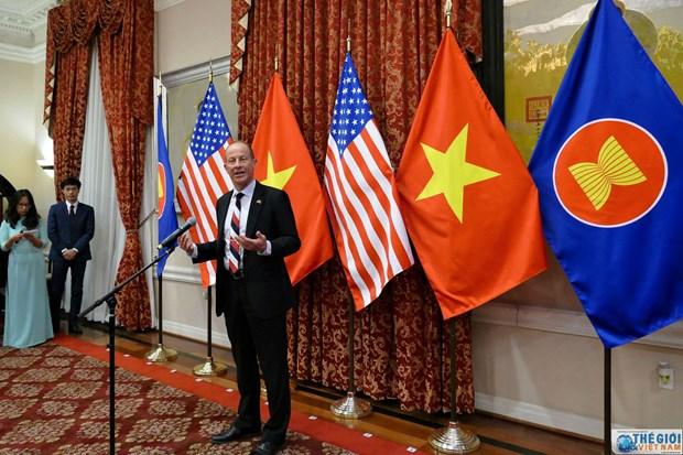 Lancement des activites marquant les 25 ans des relations diplomatiques Vietnam - Etats-Unis hinh anh 2
