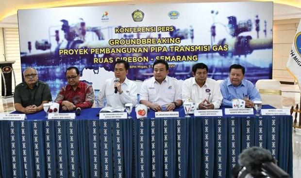L'Indonesie construit un gazoduc d'une longueur de 255 km hinh anh 1