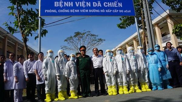 Coronavirus : Un hopital de fortune operationnel a Ho Chi Minh-Ville hinh anh 1