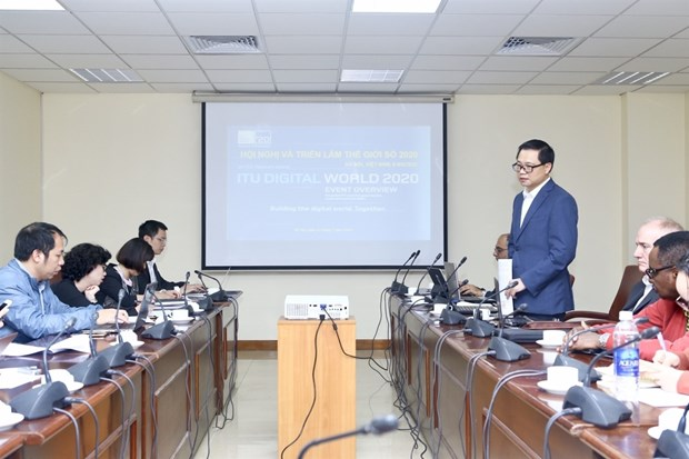 L'ITU Digital World 2020 prevu en septembre prochain a Hanoi hinh anh 1