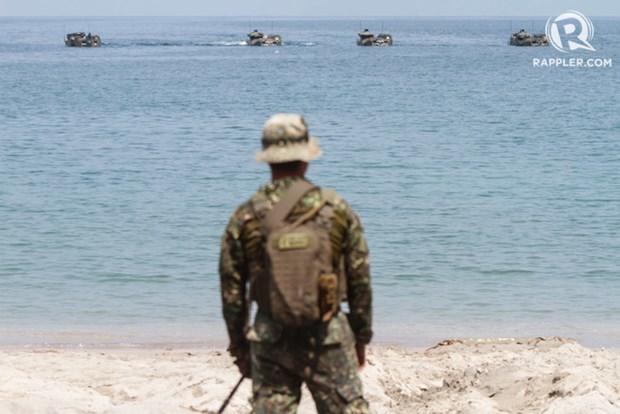 Les Philippines cesseront les exercices conjoints avec les Etats-Unis hinh anh 1