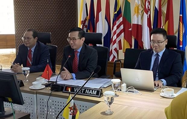 ASEAN: le Vietnam preside la premiere reunion de 2020 de l'ACCC hinh anh 1