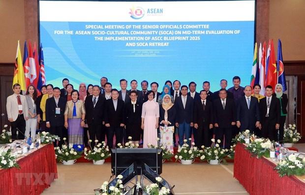 Reunion des hauts officiels charges de la Communaute socio-culturelle de l'ASEAN hinh anh 1