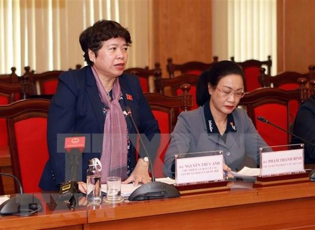 La Commission des affaires sociales de l'AN supervisie la lutte contre l'epidemie de COVID-19 hinh anh 1