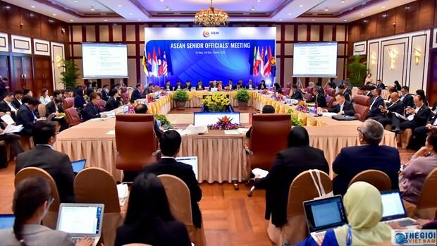 La Communaute de l'ASEAN au menu des hauts officiels a Da Nang hinh anh 1