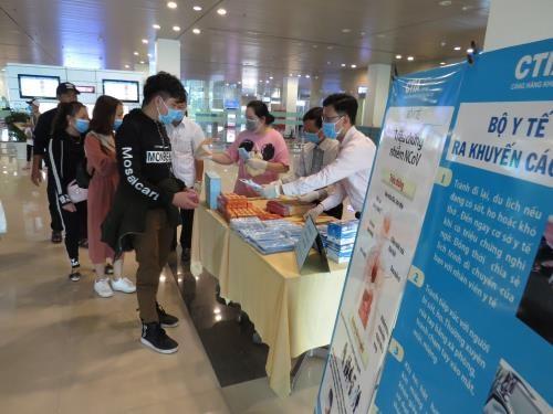 COVID-19 : L'aeroport de Can Tho recoit onze vols en provenance de Republique de Coree hinh anh 1