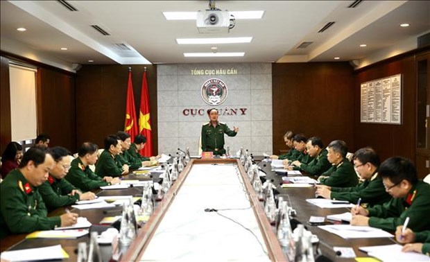L'armee vietnamienne renforce son dispositif anti-coronavirus hinh anh 1