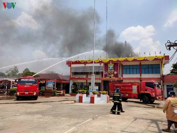 Des craintes d'epidemie causent une emeute dans une prison en Thailande hinh anh 1