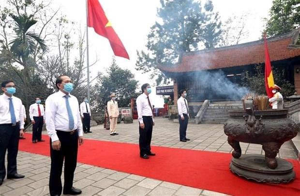 Fete des rois Hung 2020 : simple mais solennelle hinh anh 1