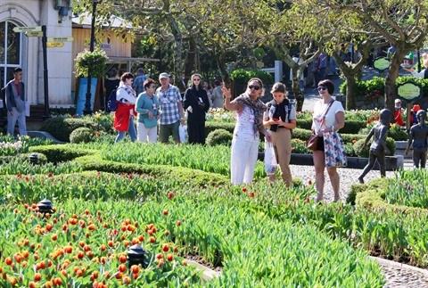 Des touristes etrangers se confinent a Da Nang hinh anh 1