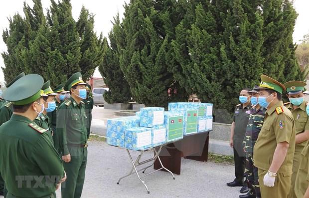 Dien Bien collabore avec des provinces laotiennes dans la lutte anti-COVID-19 hinh anh 1