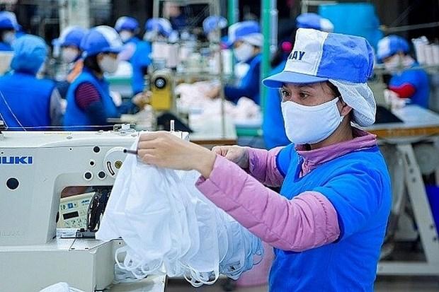 Le Vietnam peut devenir un grand producteur de masques en tissu hinh anh 1