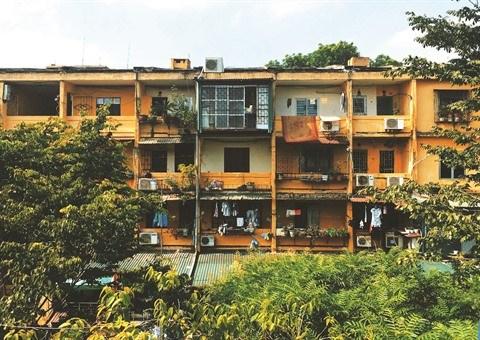 Les vieux HLM de Hanoi, un patrimoine meconnu hinh anh 1