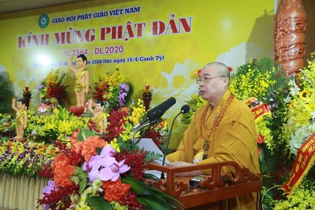 Le 2564e anniversaire de la naissance de Bouddha celebre a Hanoi hinh anh 1