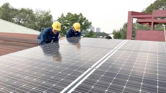Ho Chi Minh-Ville promeut le developpement de l'energie solaire hinh anh 1