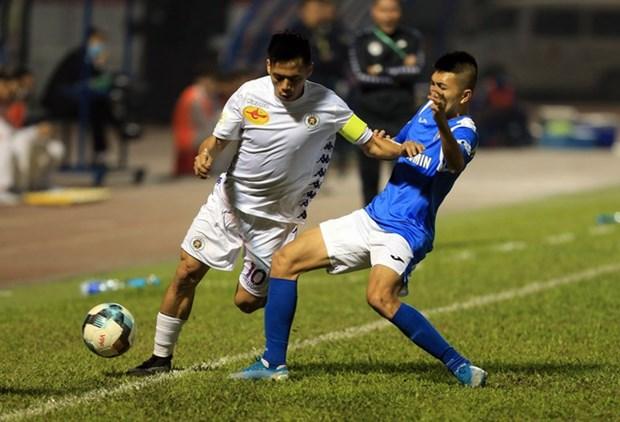 Le Championnat de football LS V.League 1 pourrait redemarrer le 5 juin hinh anh 1