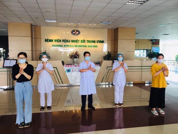 COVID-19 : trois nouveaux patients gueris au Vietnam hinh anh 1