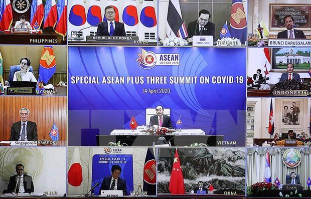 Les efforts de l'ASEAN contre le COVID-19 salues hinh anh 1