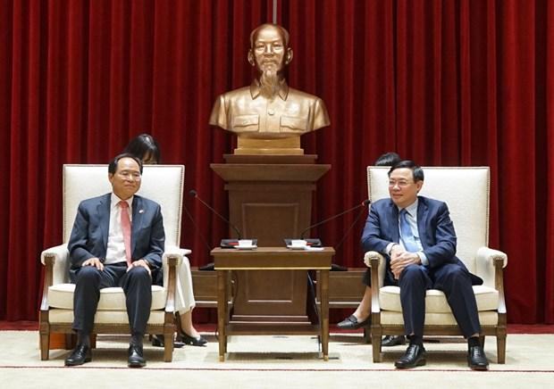 La capitale vietnamienne salue les investisseurs sud-coreens hinh anh 1