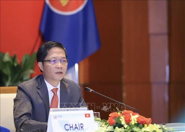 ASEAN: le renforcement de la cooperation economique au menu des ministres hinh anh 1