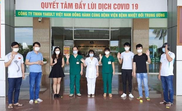 COVID-19: neuf nouvelles guerisons au Vietnam hinh anh 1