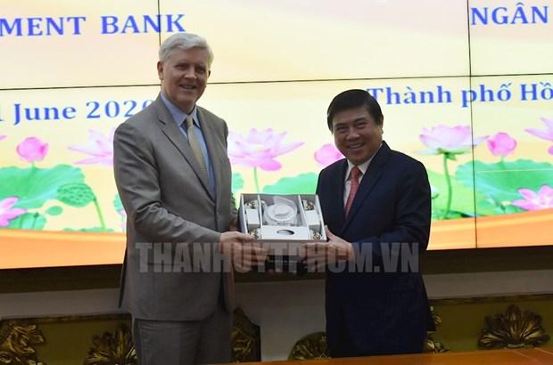 BAD - Partenaire de developpement important de Ho Chi Minh-Ville hinh anh 1
