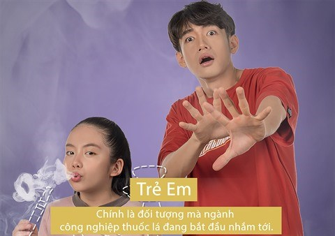 La danse anti-tabac de Quang Dang fait craquer les internautes hinh anh 1