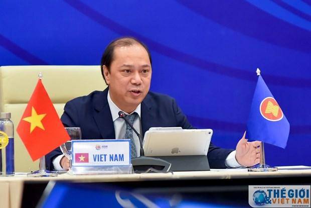 Conference des hauts officiels en vue du 36e Sommet de l'ASEAN hinh anh 1