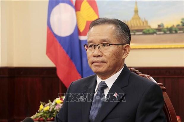 Le Laos salue le role de la presidence vietnamienne de l'ASEAN hinh anh 1