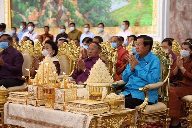 Inauguration du nouveau siege du Parti du peuple cambodgien hinh anh 2