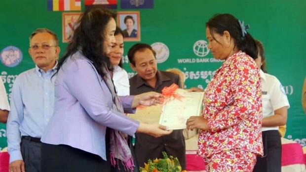 La Banque mondiale approuve un credit de 93 millions de dollars pour le Cambodge hinh anh 1