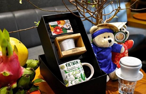 Starbucks valorise la culture vietnamienne hinh anh 1
