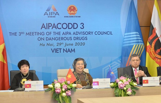 Les pays de l'ASEAN construisent une communaute sans drogue hinh anh 1