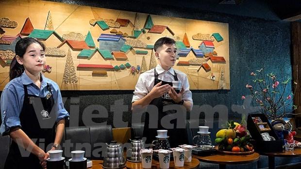 Starbucks valorise la culture vietnamienne hinh anh 2