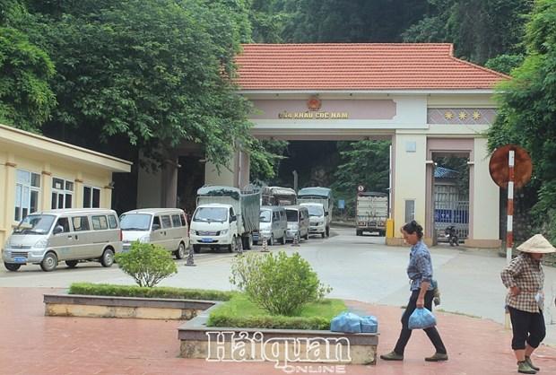 Les activites d'import-export a la porte frontaliere secondaire de Coc Nam restent toujours normales hinh anh 1