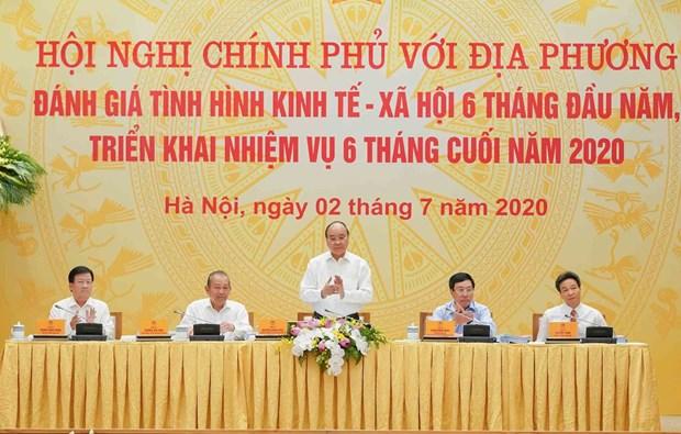 Le Premier ministre souligne la necessiste d'une reprise economique nationale hinh anh 1