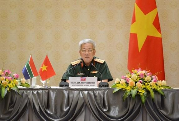 Renforcement de la cooperation en matiere de defense entre Vietnam et Afrique du Sud hinh anh 1