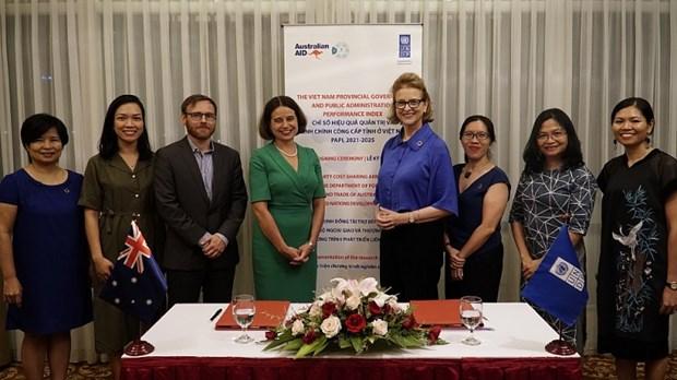 Australie et PNUD soutiennent l'amelioration de la gouvernance publique au Vietnam hinh anh 1