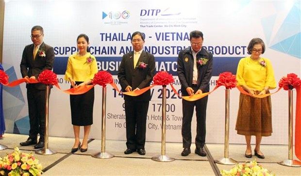 Thailande-Vietnam : Renforcement de la connexion entre les entreprises des deux pays hinh anh 1