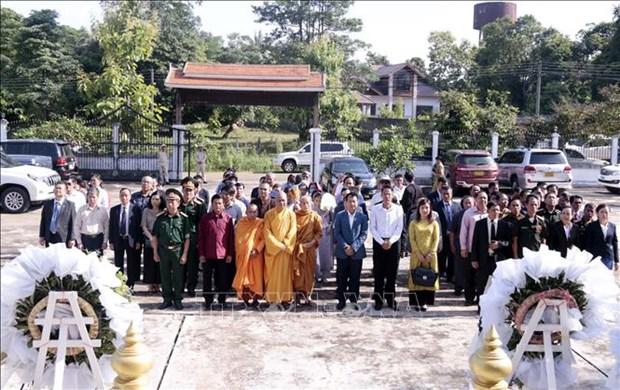 Commemoration des morts pour la Partrie au Laos hinh anh 1
