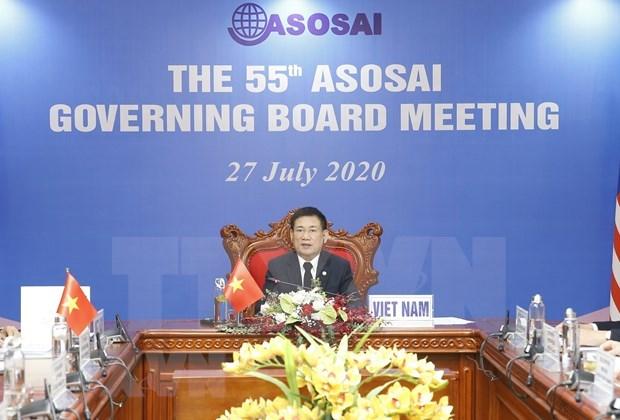 Le Comite executif de l'ASOSAI se reunit pour sa 55e session hinh anh 1